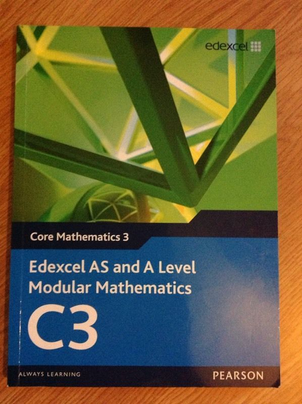 EDEXCEL C3 MATHS TEXT BOOK (BRAND NEW)
