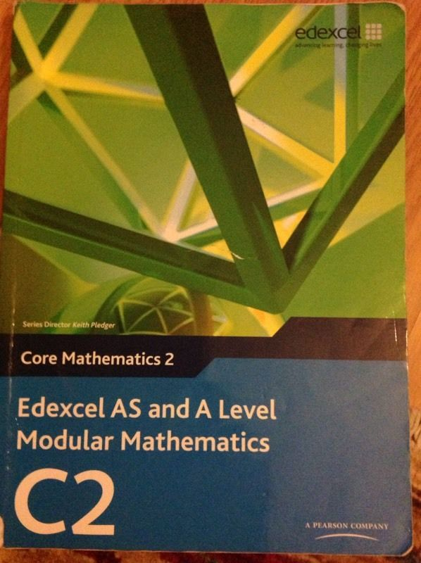 EDEXCEL C2 MATHS TEXTBOOK (VERY GOOD CONDITION)