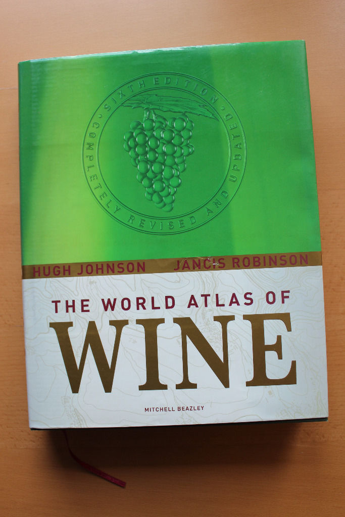 The World Atlas of Wine (Hugh Johnson & Jancis Robinson)