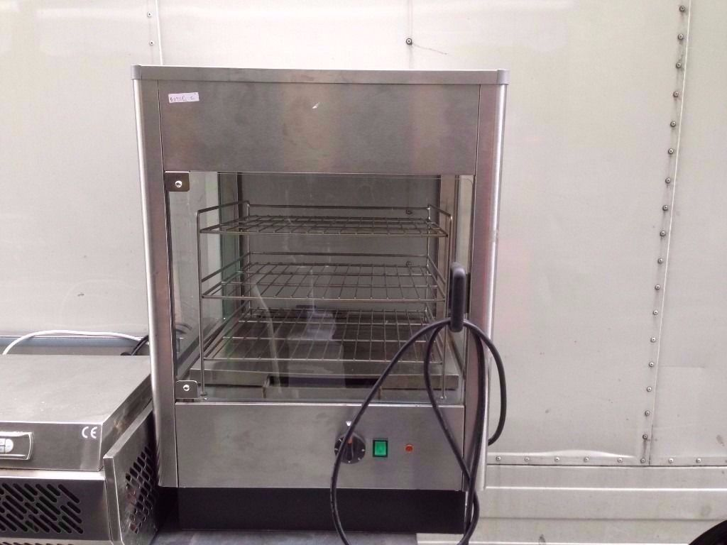 COMMERCIAL HOT HEATED FOOD WARMING CABINET CAFE BAR CAFETERIA CUISINE DINING RESTAURANT CATERING