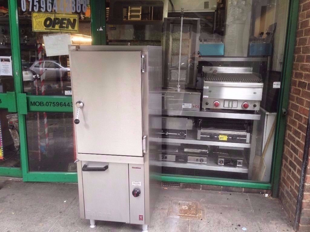 COMMERCIAL STEAM OVEN FOR PERI PERI CHICKEN DONER KEBAB RESTAURANTS FASTFOOD TAKEOUT CAFES KITCHENS
