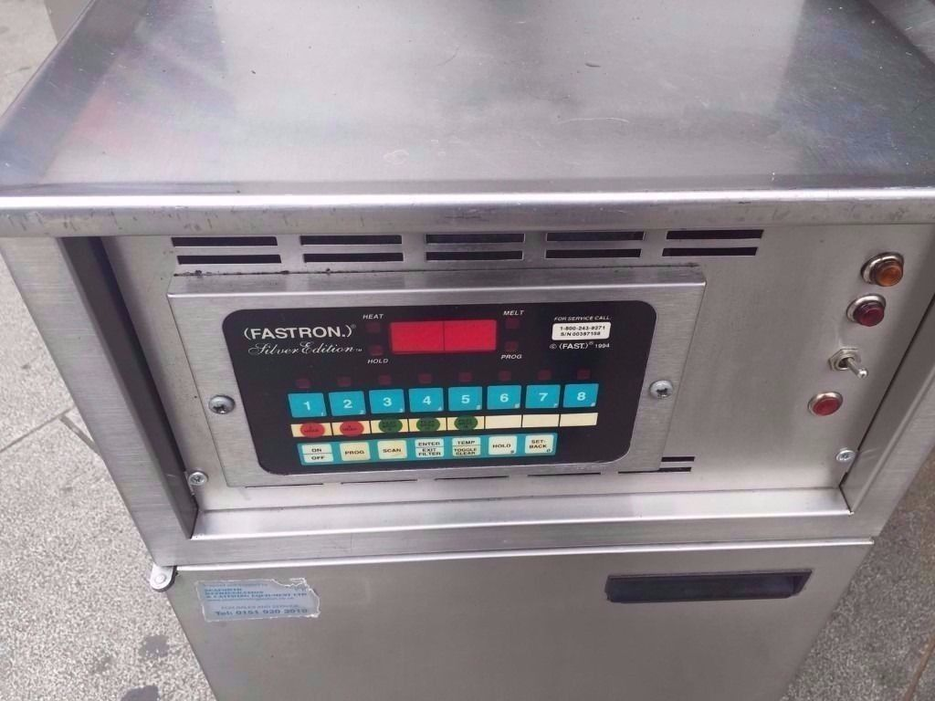 COMMERCIAL AMERICAN PRODUCED HENNY STYLE STYLE PRESSURE FRYER CHICKEN/FISH & CHIPS FRIES FASTFOOD