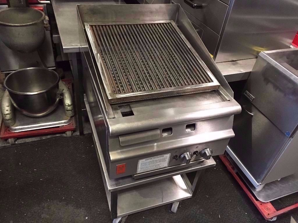 COMMERCIAL FALCON STYLE CHARCOAL/CHAR GRILL FOR RESTAURANTS CATERING BARBECUES CHICKEN DONER KEBAB