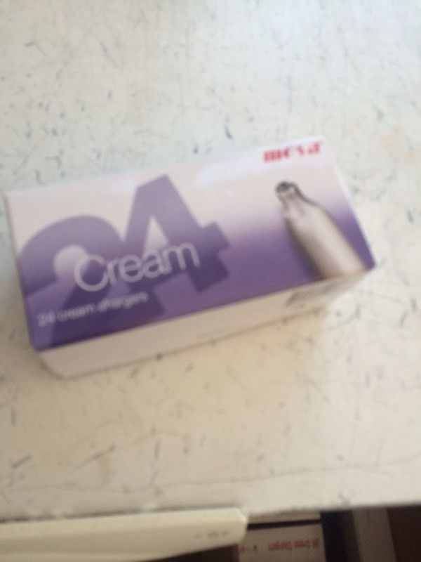 Cream chargers (Fast Delivery)