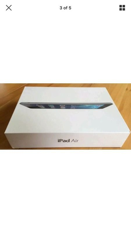 Apple iPad Air 32gb wifi and cellular model brand new sealed