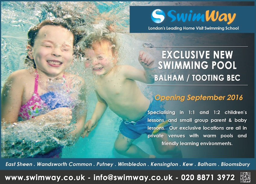 NEW SwimWay Swimming Lessons in Balham / Tooting Bec
