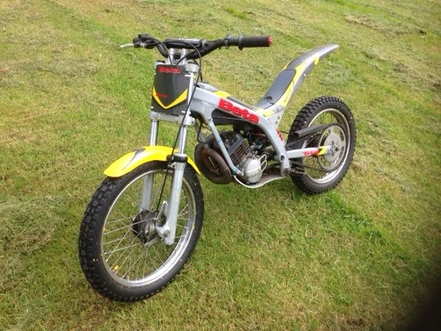 Beta 50cc kiddies trials bike