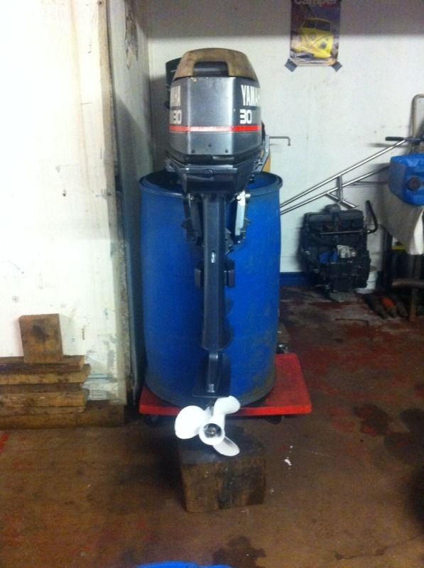 Yamaha 30hp outboard engine 2 stroke