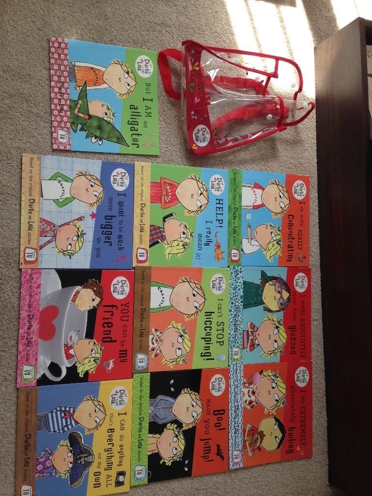 10 x books gift set Charlie and Lola