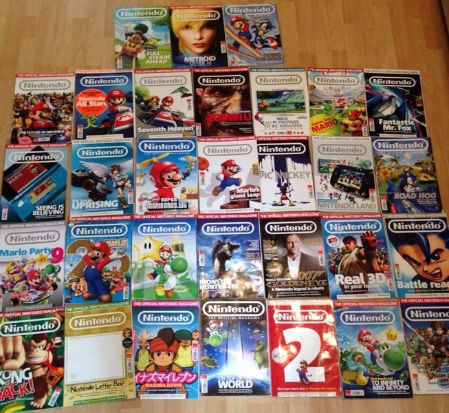 Official Nintendo magazines X 30 job lot