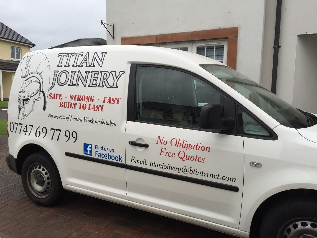Titan Joinery - Safe, Strong, Fast, Built to Last - Glasgow (Find us on Facebook)