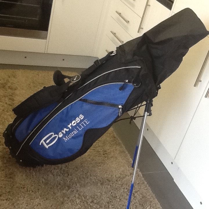 BEN ROSS GOLF BAG.
