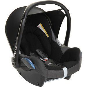 NEW MAXI-COSI CABRIOFIX BABY CAR SEAT-TOTAL BLACK