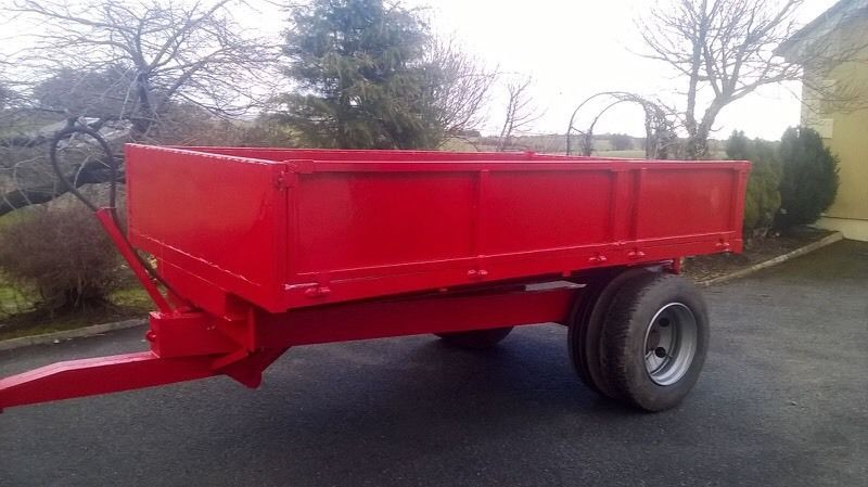 10x6 tractor tipping trailer