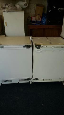 Integrated fridge and freezer. Both in excellent condition.