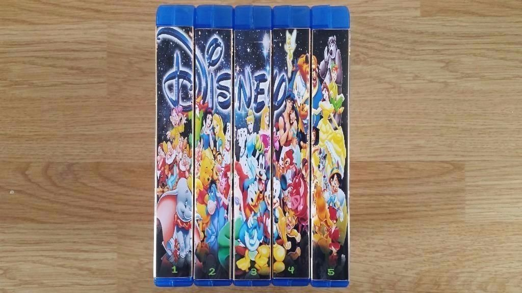 DISNEY DVD COLLECTION ,90 MOVIES, 30 DISCS, BRAND NEW.CAN DELIVER.
