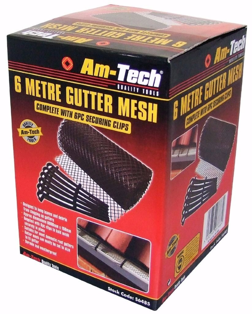 Am-Tech uPVC gutter mesh
