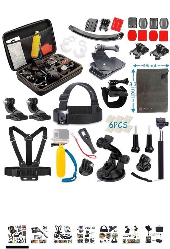Go pro action camera accessory pack! BRAND NEW