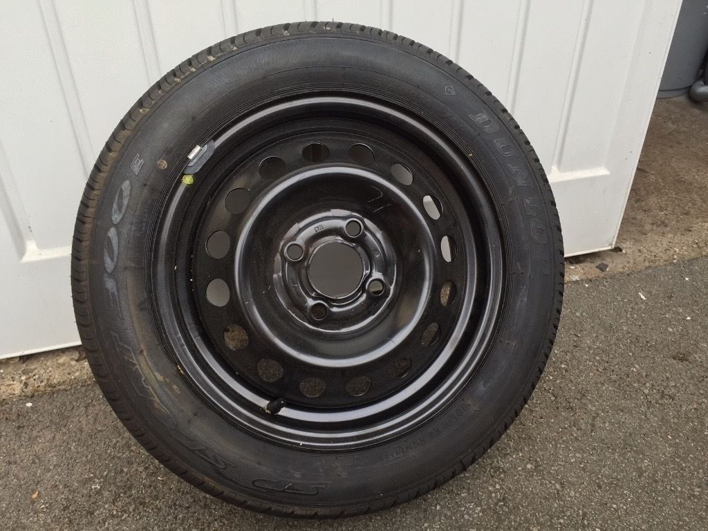New Unused Spare wheel/tyre Dunlop SP Sport 300E