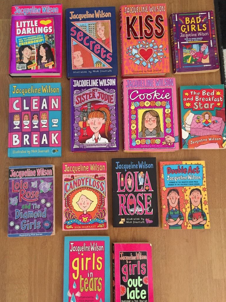 x14 Jaqueline Wilson books for sale