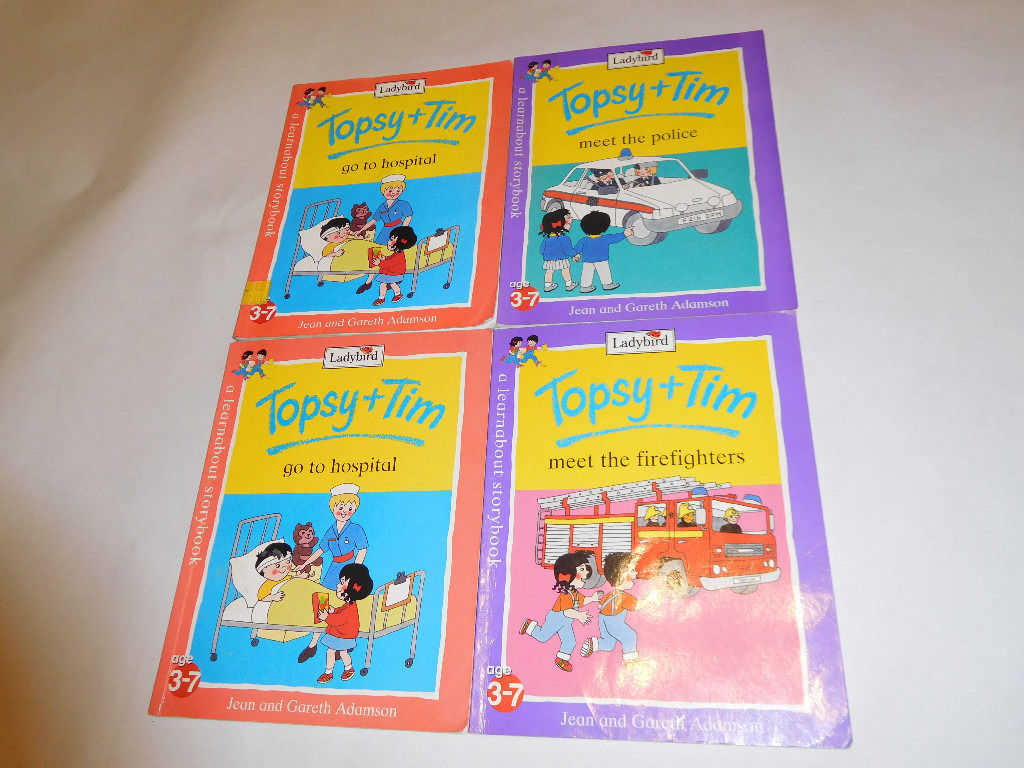 Topsy and Tim paperback books (ladybird)