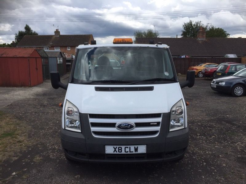 58 Reg ford transit recovery truck