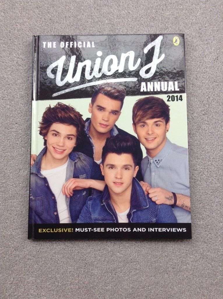 The Offical Union J Annual 2014