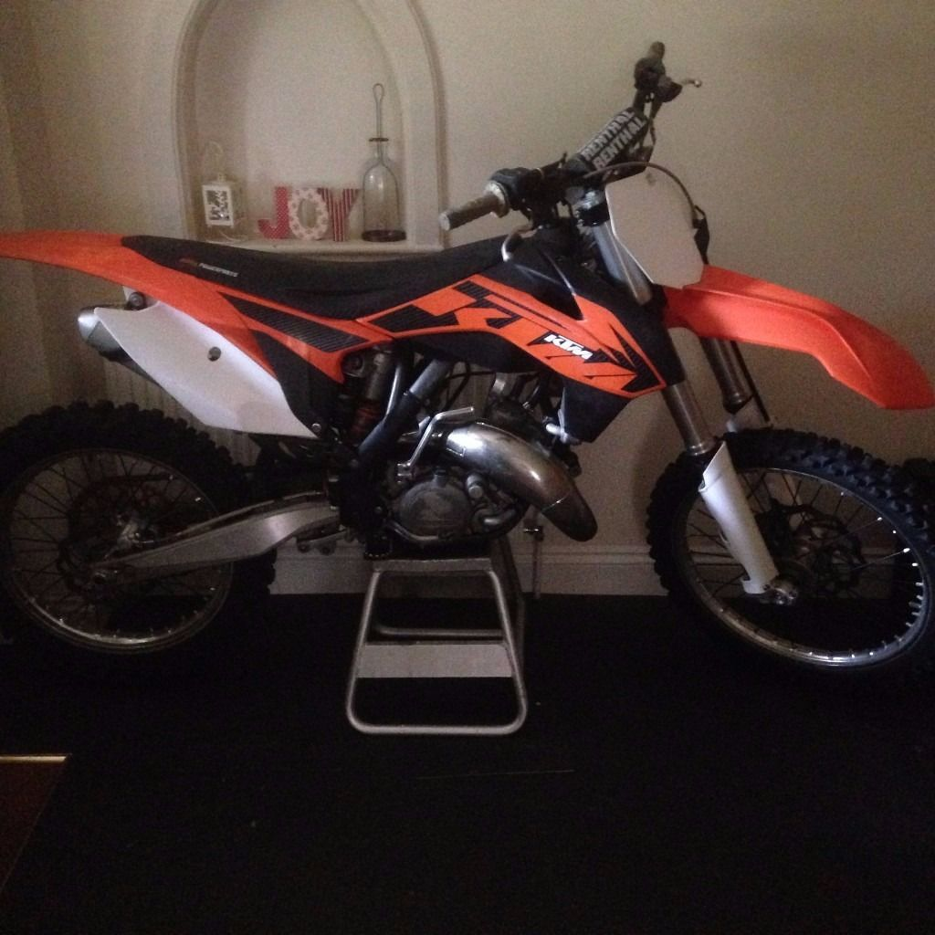 KTM 125 SX Motocross Bike 2013