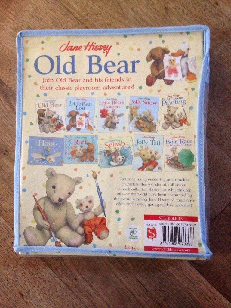old bear book sets - jane hissey