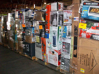 Huge Joblot 11 Pallets' Worth of Raw and partially sorted customer return Items for sale Discount