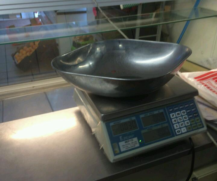 Meat equipment meat scale
