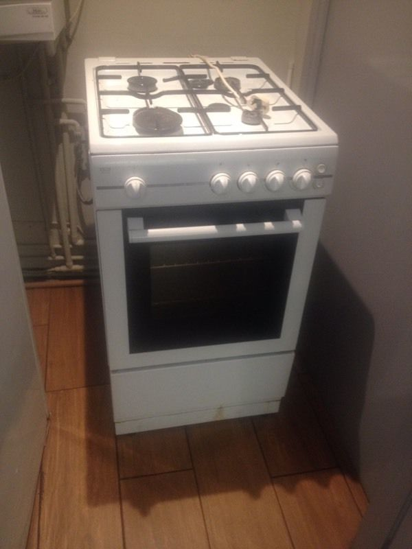 Domestic oven hob