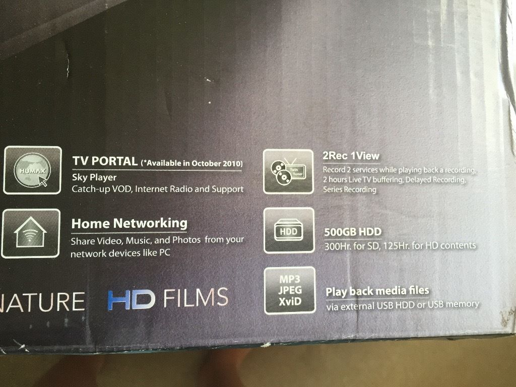 Freeview + HD Digital TV Recorder box