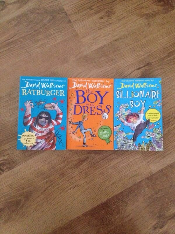 David Walliams books.
