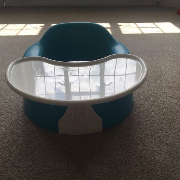 Bumbo floor seat / seats and play tray. 2 available but will sell separately