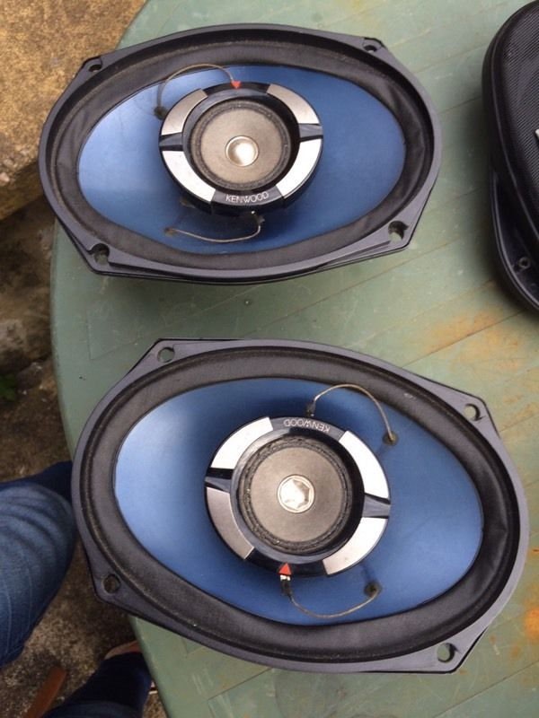 Kenwood speakers 6x9