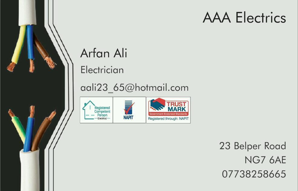 Qualified Electrician with governing body NAPIT approved