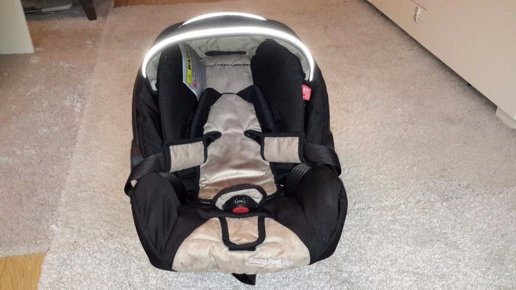 Recaro Young Profi Plus Car Seat suitable from birth to 13kg