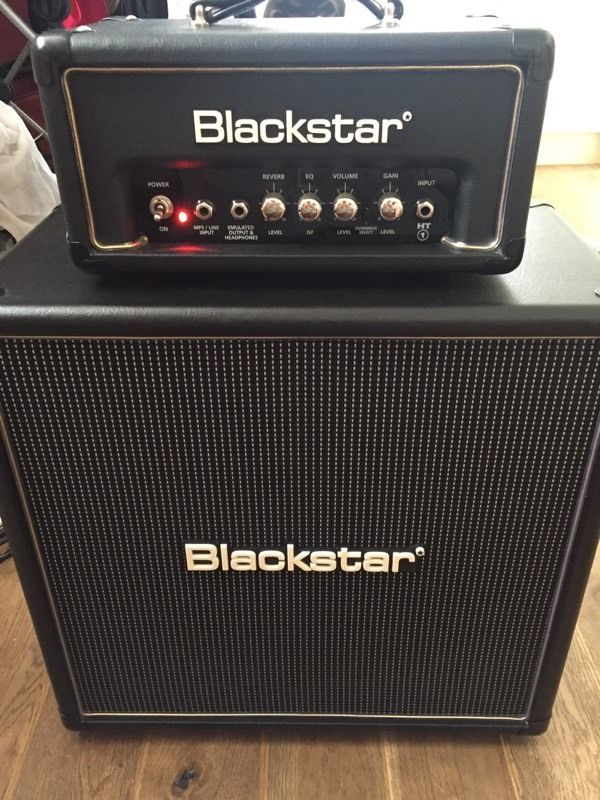 Blackstar HT-1RH and HT-408 cabinet