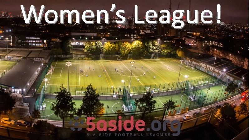 Women's 5aside football league in Islington - players wanted