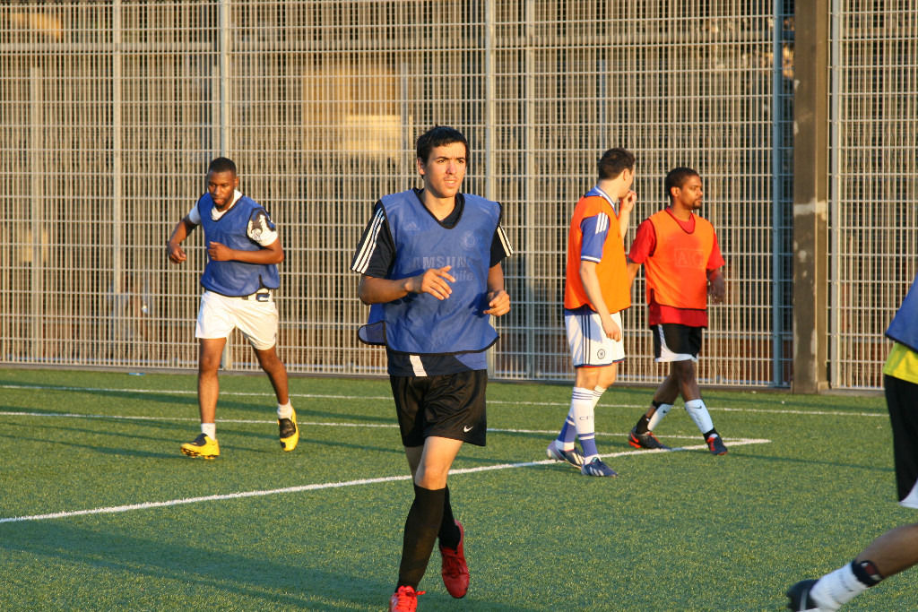 Play 11 a side football----> @ Westway Sports Centre