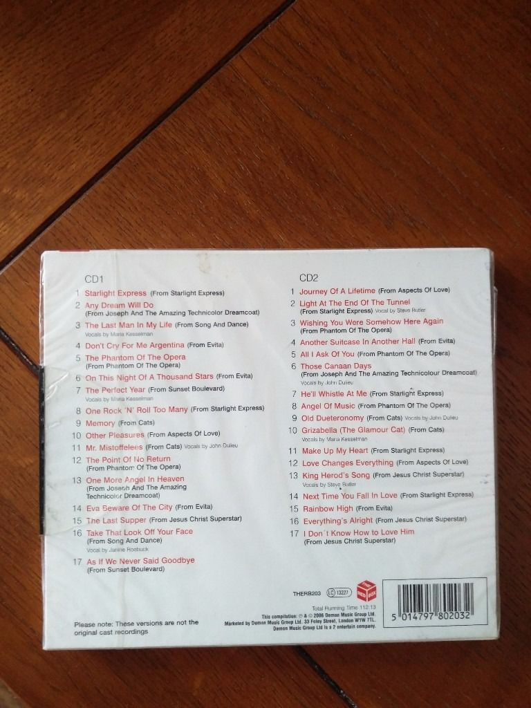 Andrew Lloyd Webber - the essential collection