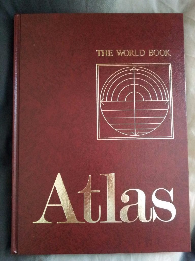 The World Book Atlas - NEW