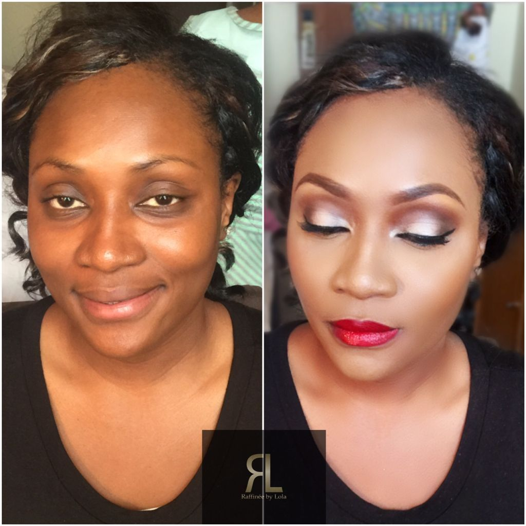 Bridal Makeup Artist for Black, African Asian and Arab skin. Bridal & Afro mobile hairstylist