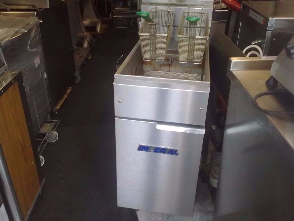 CATERING COMMERCIAL GAS CHIPS FRYER COMMERCIAL TAKE AWAY FAST FOOD FRIED FOOD DONER KEBAB CATERING