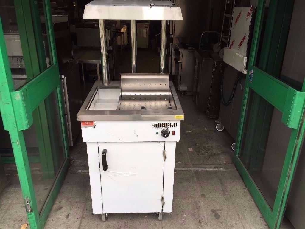 CATERING COMMERCIAL CHIP SCUTTLE DUMP FRIED FOOD CHIPS COMMERCIAL FAST FOOD CHICKEN TAKE AWAY KEBAB