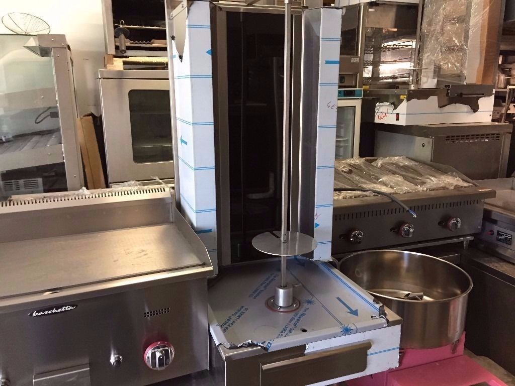 CATERING COMMERCIAL BRAND NEW ELECTRIC DONER KEBAB SHAWARMA GRILL MACHINE FAST FOOD KEBAB TAKE AWAY