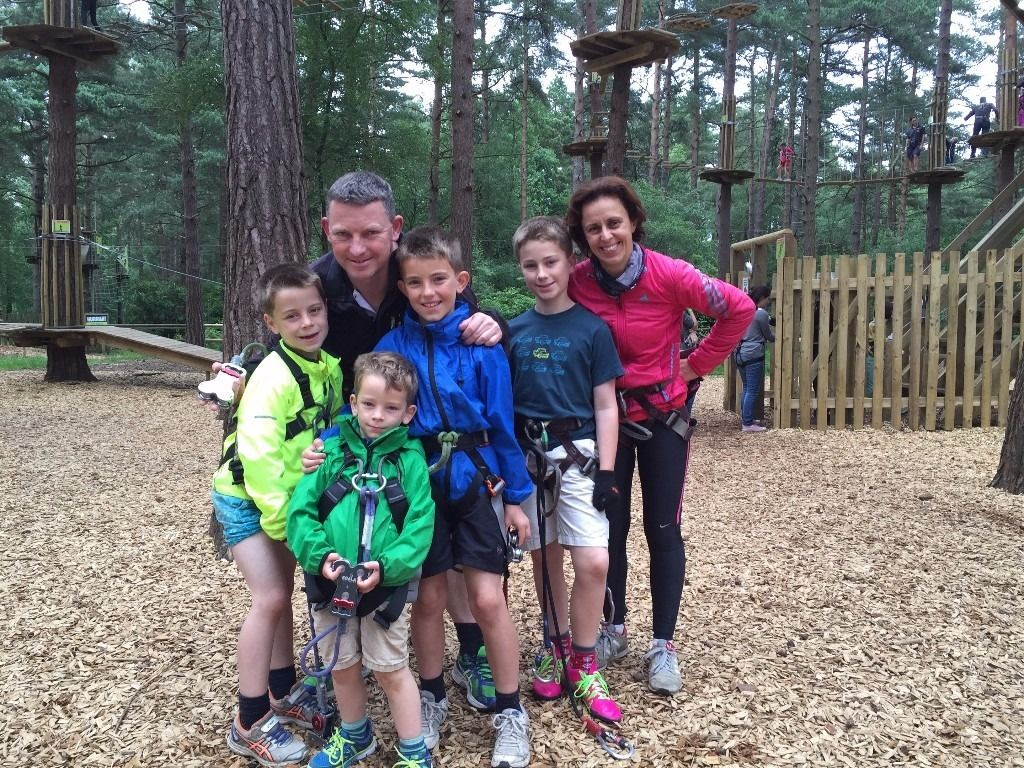 Au Pair wanted for active family with 4 sporty boys in Richmond (From September)