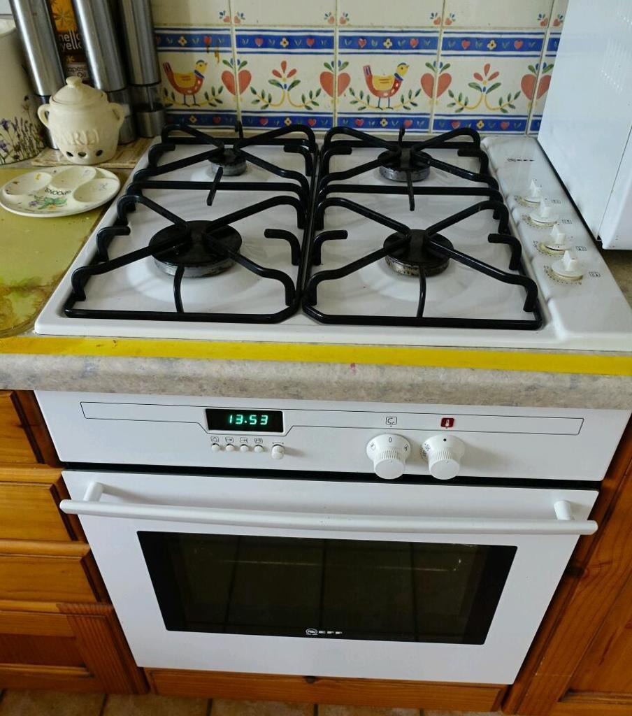 Electric (NEFF) Oven + Gas Hob