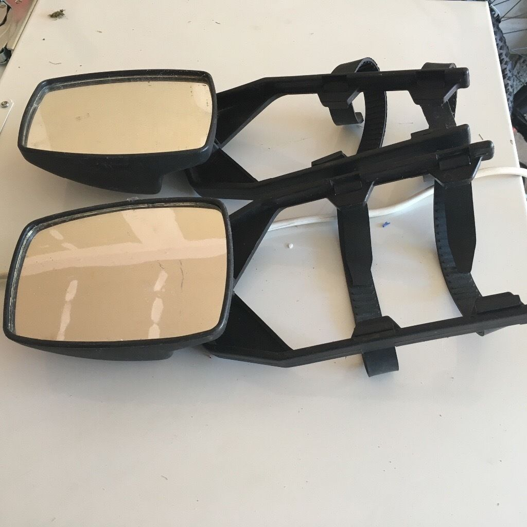 2 x ring standard towing mirrors
